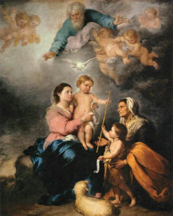 Holy Family Murillo
