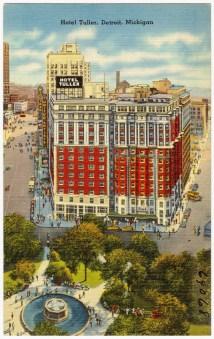 File Hotel Tuller Detroit Michigan 69068