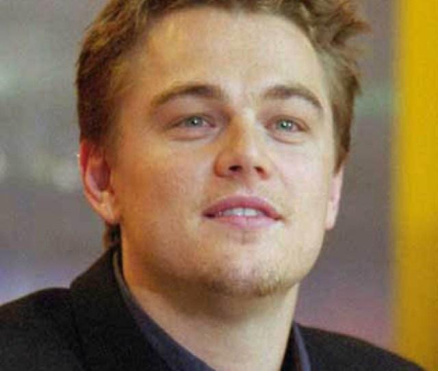 A Photograph Of Leonardo Dicaprio Attending A Press Conference For The Beach