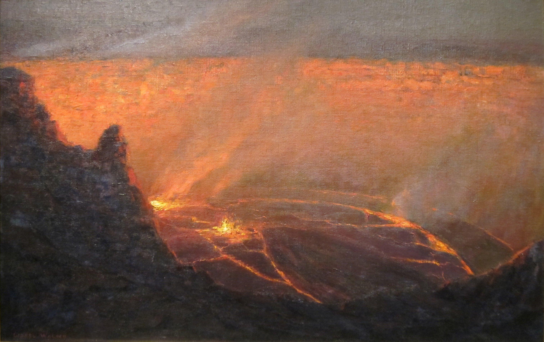 FileLionel Walden Volcano Oil On Canvas Honolulu