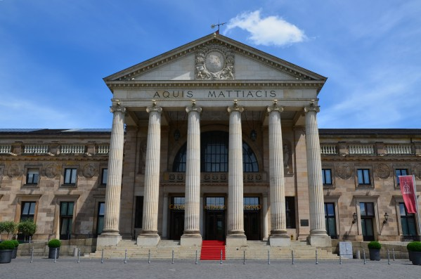 File Magnificent Neoclassical Faade Of Kurhaus