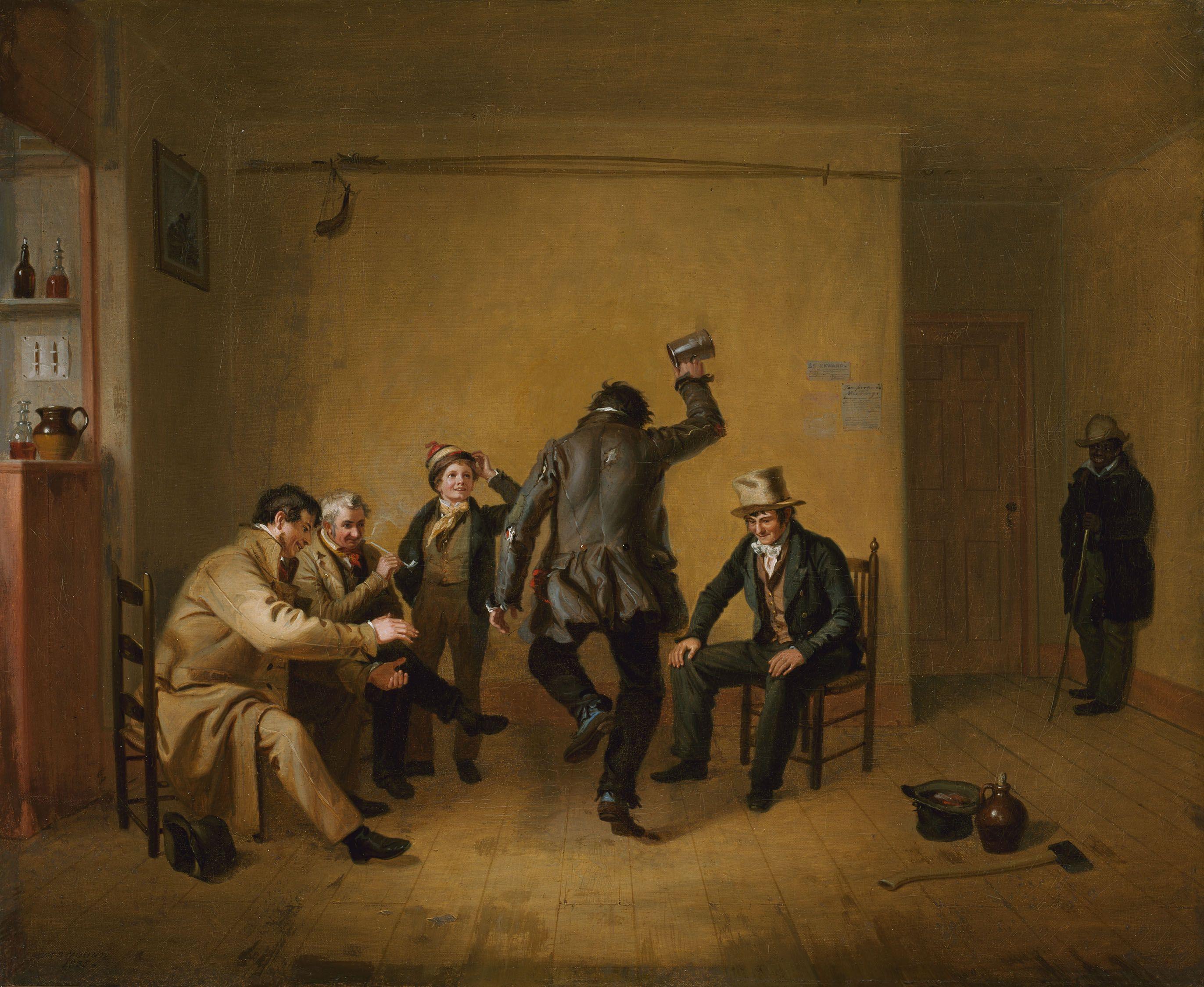 FileBarroom Scene William Sidney Mount 1835jpg