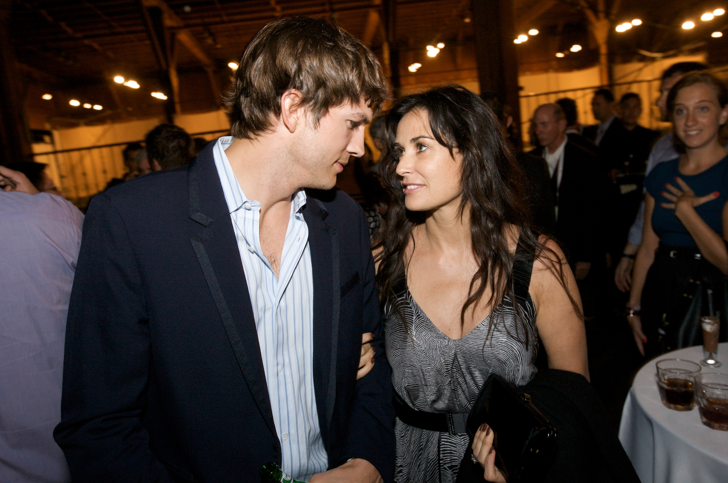 Ashton Kutcher and Demi Moore split