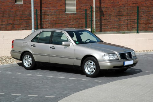 small resolution of file 1995 mercedes benz c200 w202 elegance sedan jpg