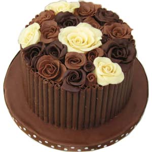 English: Choc Rose Cake