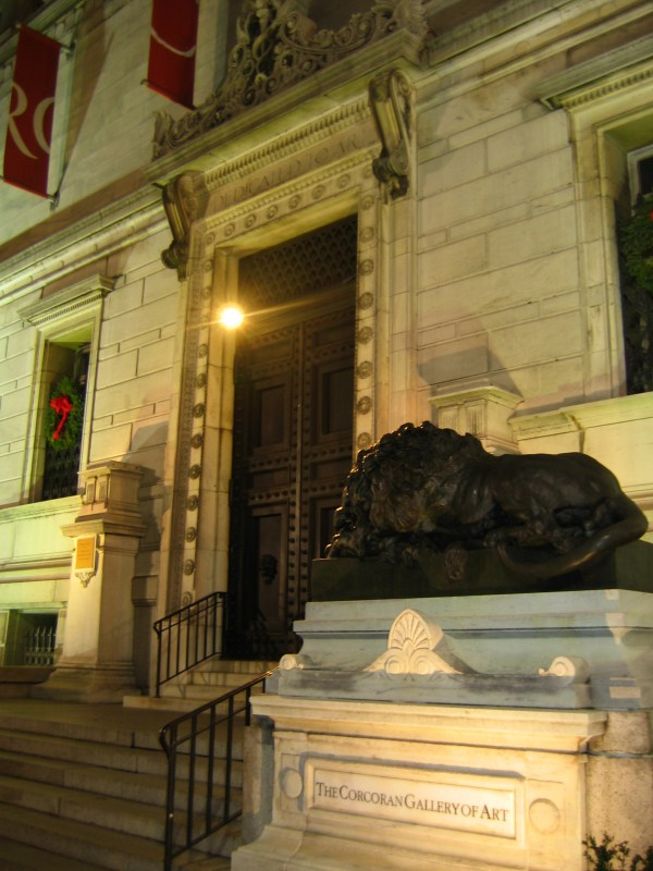 Corcoran Gallery of Art Entrance