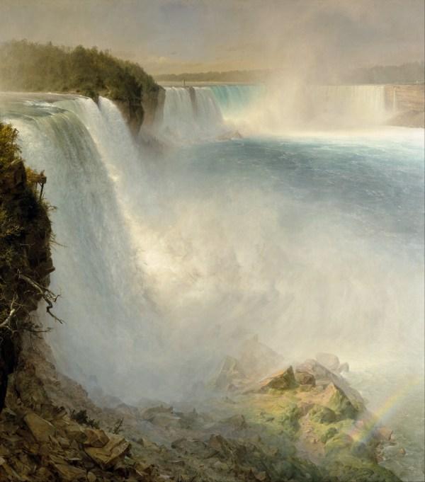 Niagara Falls Frederic Church Painting