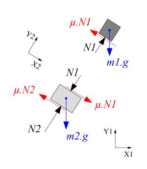 ملف:Free body diagram 2png  ويكيبيديا، الموسوعة الحرة
