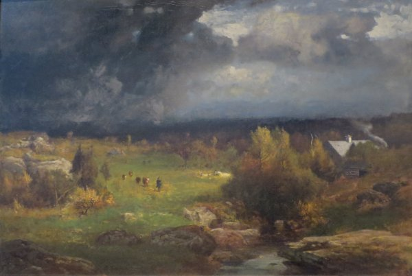 File George Inness - 'close Of Stormy Day' . 1881-82