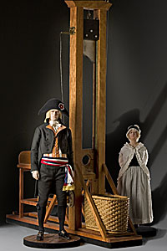 Fotografía en Wikipedia de una Guillotina