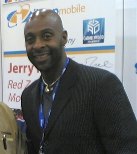 NFL legend Jerry Rice at CTIA Wireless in Las ...