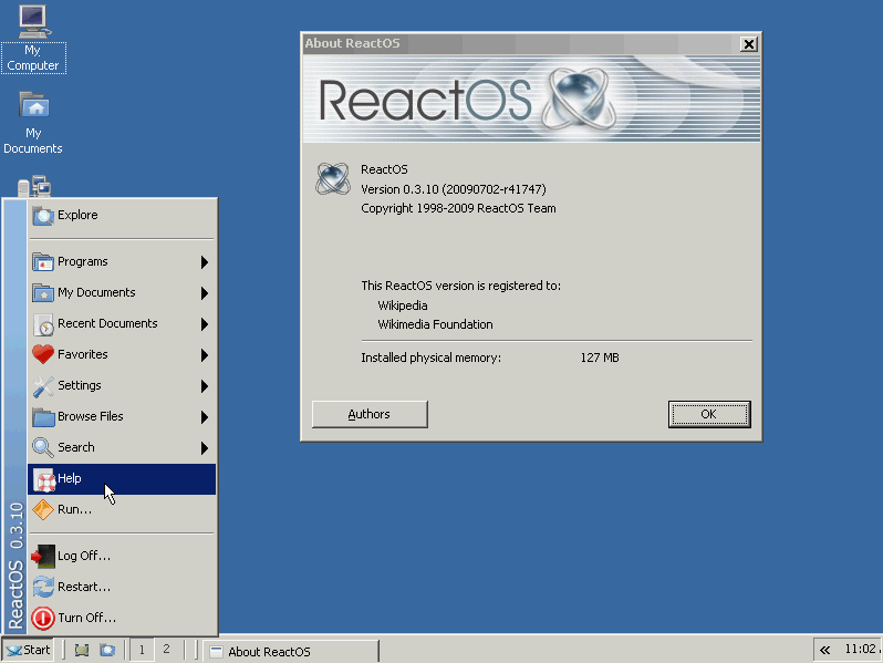 ReactOS  Wikipedie