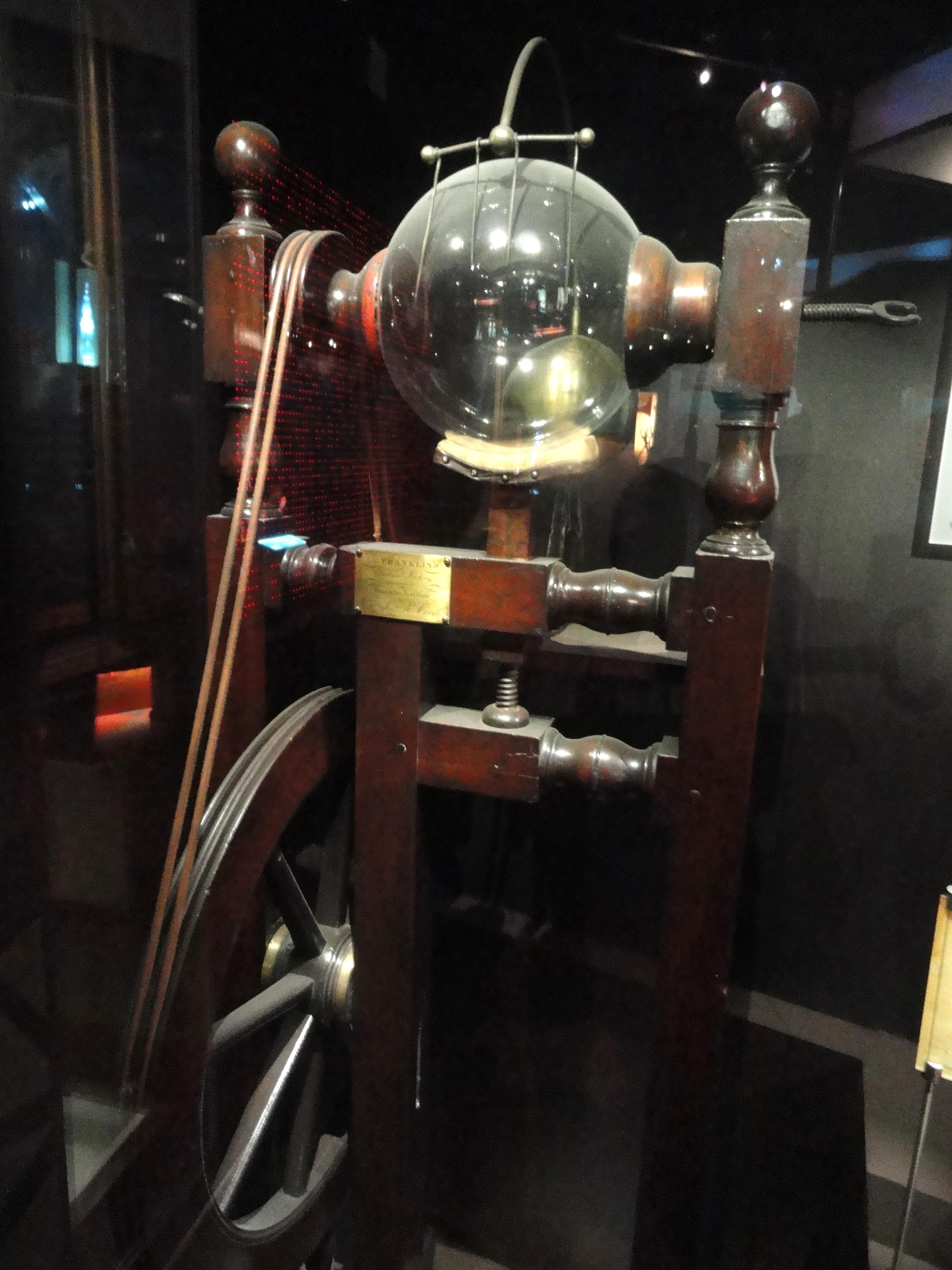 File Benjamin Franklin S Electrostatic Generator Maker