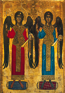 File:Erzengel Michael und Gabriel.jpg