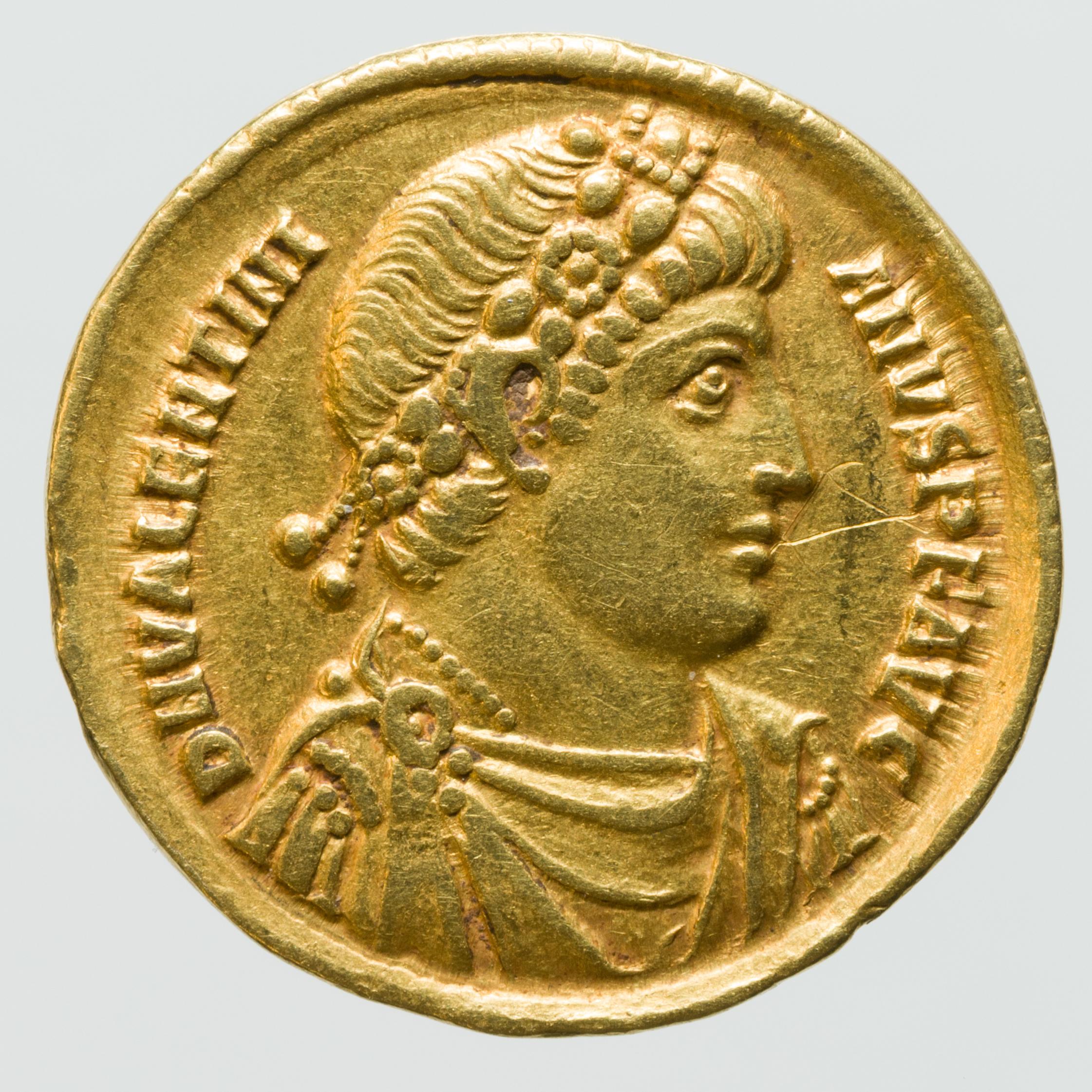 Zeldzame gouden Romeinse munt gevonden in Isral