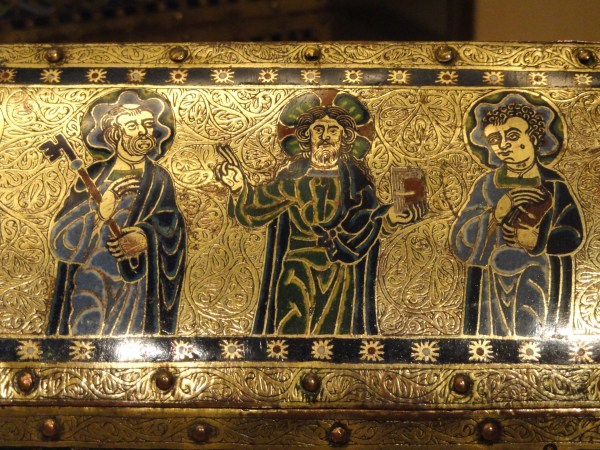 File Reliquary Chasse Limoges . 1175-1180 Champleve