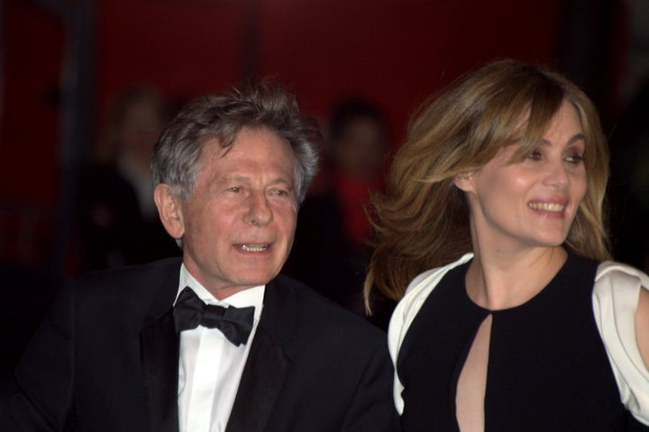 English: Roman Polanski and Emmanuelle Seigner...