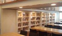 School Library Bookshelves