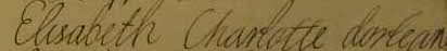 File:Undated signature of Élisabeth Charlotte d'Orléans.jpg
