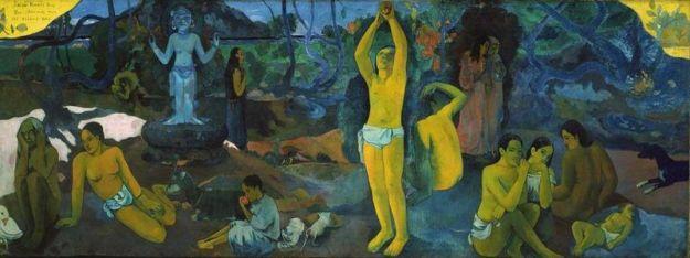Paul Gauguin, D'où venons-nous ? Qui sommes-nous ? Où allons-nous ? (1897/98).