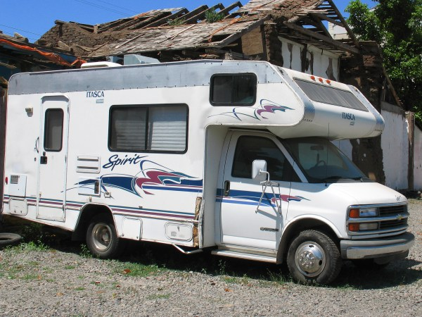 Chevy Motorhome - Year of Clean Water