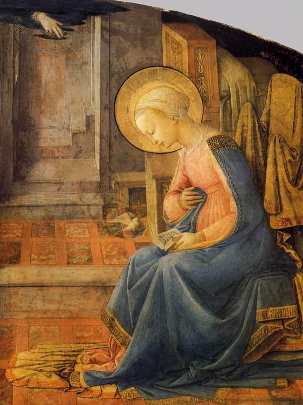 File Fra Filippo Lippi - Annunciation Detail Wga13233