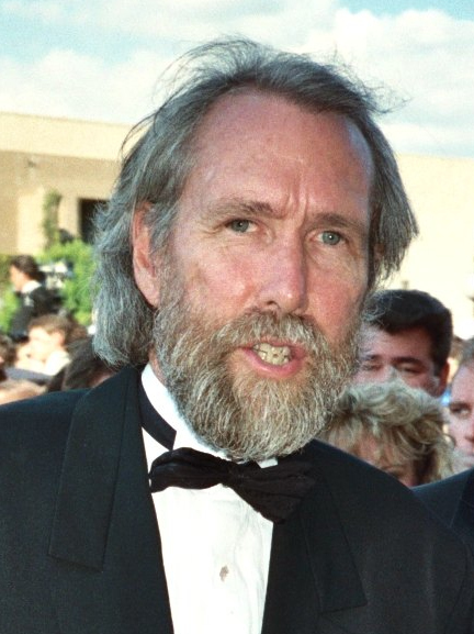 Photo of puppeteer Jim Henson at the 41st Emmy...