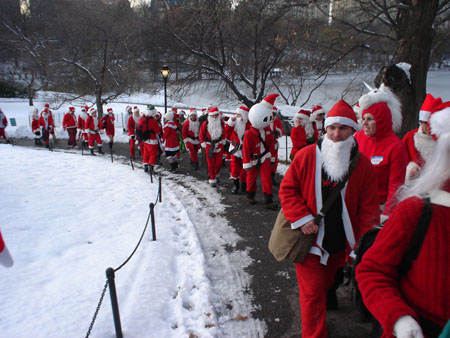Exhibit F - Some Santa hopefuls.