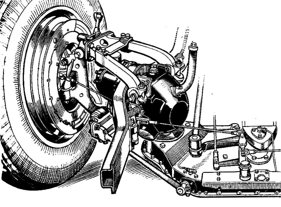 File:Rolls-Royce wishbone front suspension (Autocar