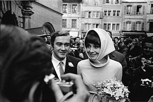 English: Audrey Hepburn and Andrea Dotti Franç...