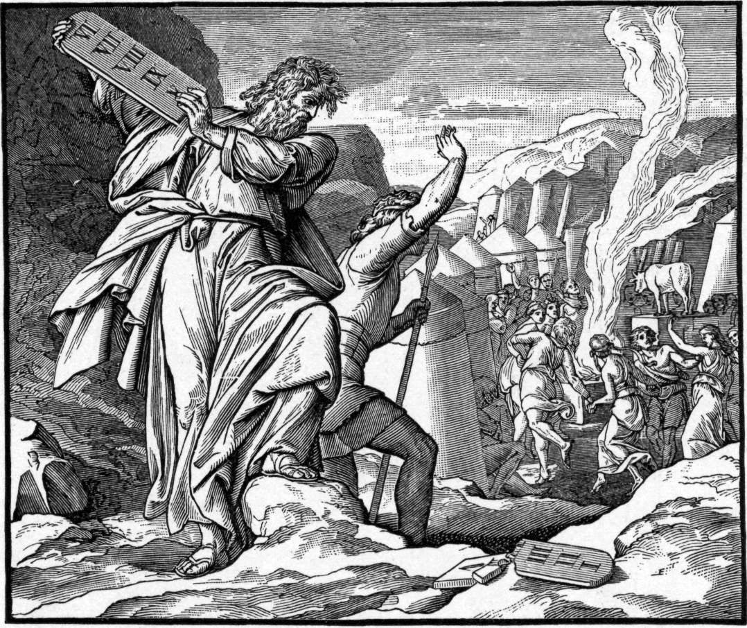 File Foster Bible Pictures 1 Moses Throws The Tablet