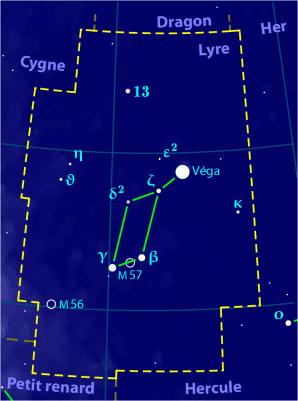 Constellation De La Lyre : constellation, (constellation), Wikipédia