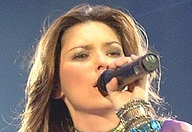Shania Twain, live in Wembley, UK