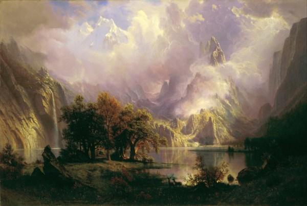 File Albert Bierstadt - Rocky Mountain Landscape Google Art