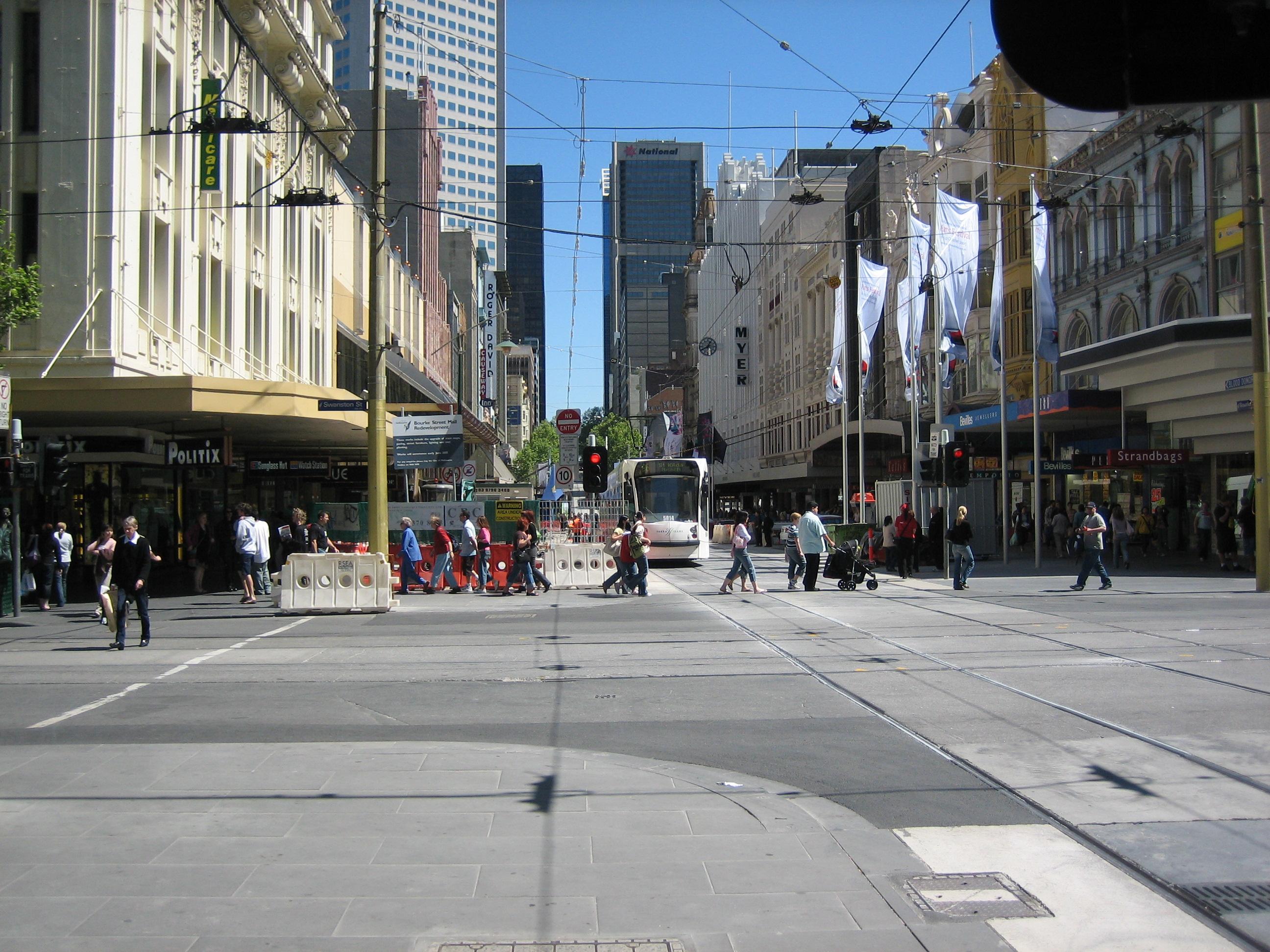 Archivobourke Street Mall Redevjpg  Wikipedia, La