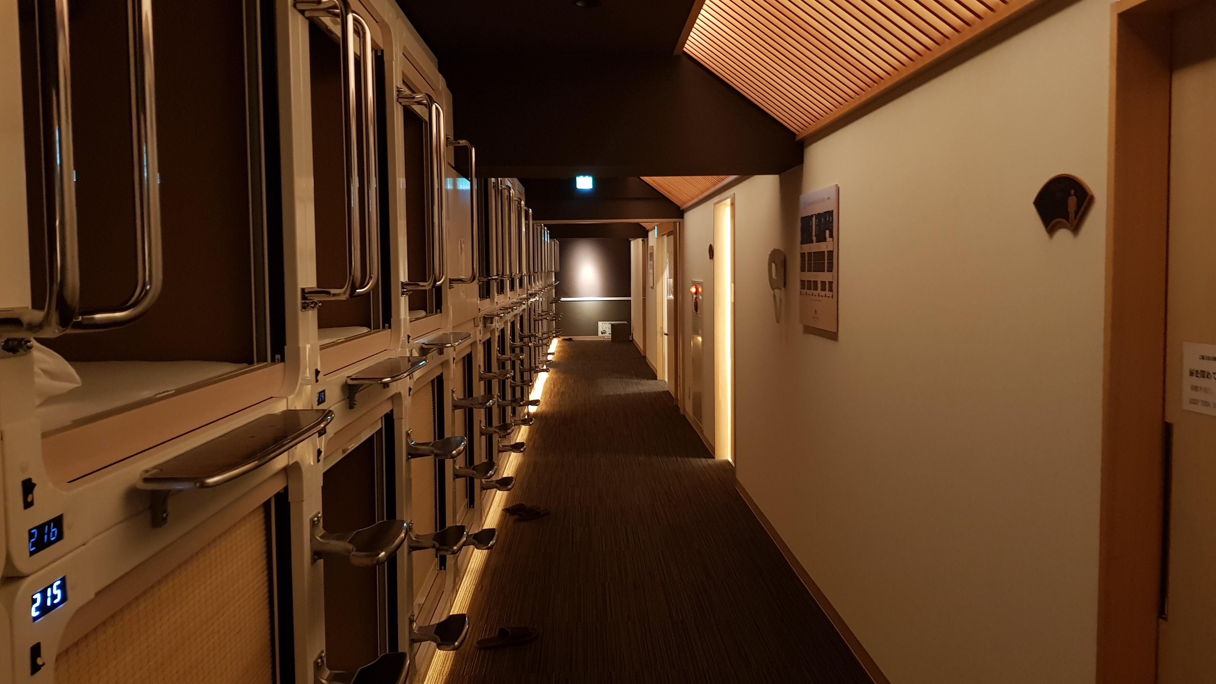 capsule hotel wikipedia