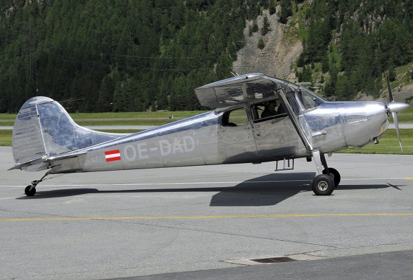 Cessna 170 - Year of Clean Water