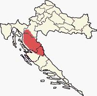 Peta lokasi Lika
