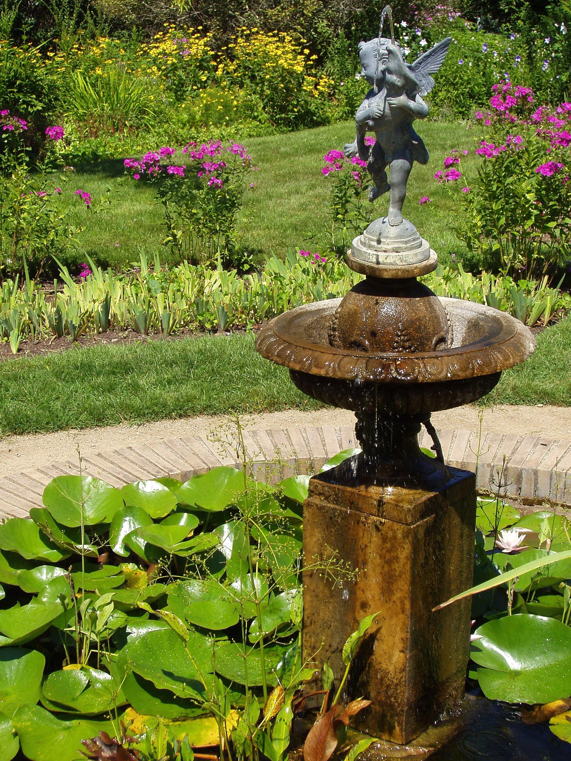 Fileglen Magna Farms  Danvers, Ma  Garden Fountainjpg