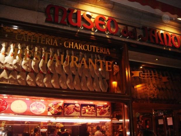 Dove mangiare a Madrid: il Museo del Jamon