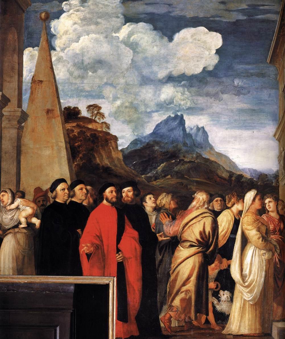 Presentazione di Maria al Tempio Tiziano  Wikipedia