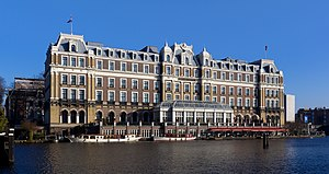 English: The Amstel Hotel in Amsterdam, the Ne...