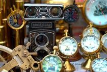 Antiques being sold on Colaba Causeway