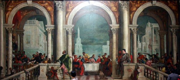 """The Feast in the House of Levi"" by Paolo Veronese"