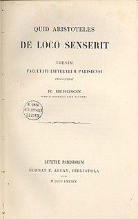 Henri Bergson  Wikipedia