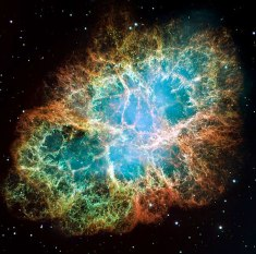 The Crab Nebula as seen by HST