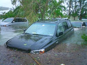 Flooding in Key Haven caused by hurricane Wilm...