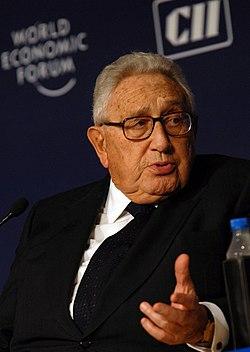 Henry Kissinger, at the World Economic Forums India Economic Summit 2008, New Delhi.jpg