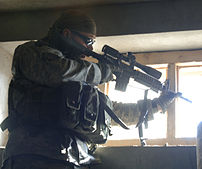 A sniper from the Jalalabad Provincial Reconst...
