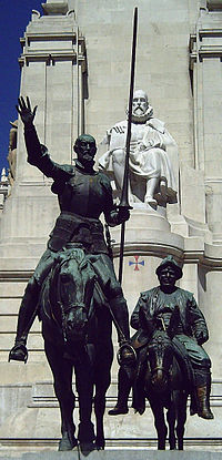 Monumento a Cervantes (Madrid) 10.jpg